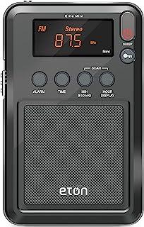 Eton Elite小型AM/FM/短波收音机(图形/标记/颜色/包装可能有所不同)