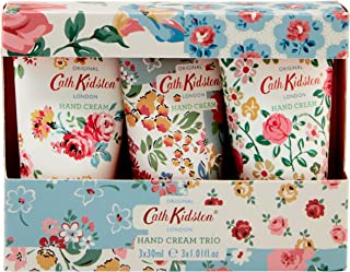 Cath Kidston Cottage Patchwork 护手霜旅行装礼盒三重奏,3 x 30毫升