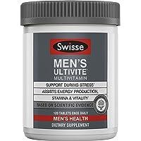 Swisse Premium Ultivite 男士每日复合维生素 | 能量和压力支持,富含抗氧化剂和矿物质 | 维生素…