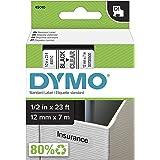 DYMO Labeling Tape, D1, Split Back, Adhesive, Easy Peel, 1/2…