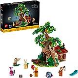 LEGO 乐高 Ideas Disney 小熊维尼 21326 成人搭建和展示模型,2021 年新款 (1,265 件)