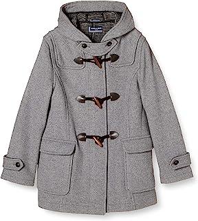 Olive School 带拉链双面粗呢大衣 1J90017 女款