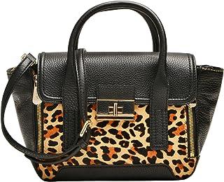 Louvier Leather Melissa 挎包,黑色