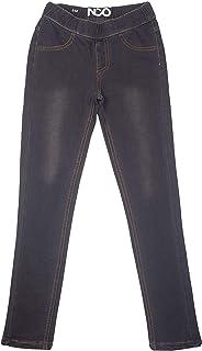 女童经典套穿式儿童牛仔布弹力蓝色打底裤牛仔裤裤