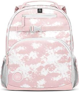 Simple Modern 儿童 Fletcher 背包,粉色扎染,12 升