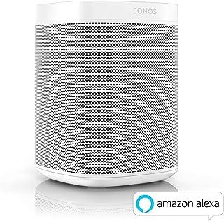 Sonos 搜诺思 ONEG1EU1 智能扬声器 带语音控制 白色 白色