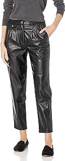 [BLANKNYC] 女士人造皮革长裤