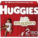 Huggies Little Snugglers 婴儿尿布,尺码 1,198片,1个月 One Month Supply…