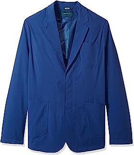 Perry Ellis 男士高大纯色弹力运动夹克
