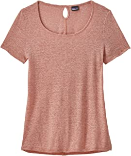 Patagonia W's Mount Airy Scoop Tee Top,女士