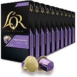 L'OR espresso lungo profondo 铝咖啡胶囊 强度 8 10 件装 100 粒