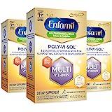 Enfamil 美赞臣 Poly-Vi-Sol 含铁多种维生素补充剂滴剂,50毫升滴管瓶,3瓶装