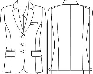 Select Stage【SA210J】≪美形MIKATA≫夹克(办公制服)