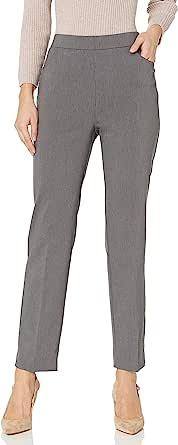 Alfred Dunner 女式 Allure 修身女士弹力裤 - 现代修身
