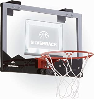 Silverback LED Mini Basketball Hoop Set