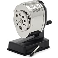 X-Acto Model KS, Vacuum-Mount Pencil Sharpener, Chrome Recep…
