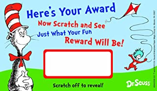 Eureka Dr. Seuss Assorted Scratch Off Reward Cards, Package of 24 (844209)