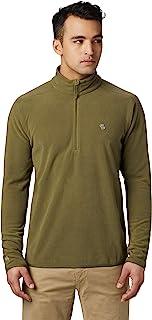 Mountain Hardwear Macrochill 1/2 拉链男式经典羊毛套头衫,适合远足、徒步、登山和日常穿着