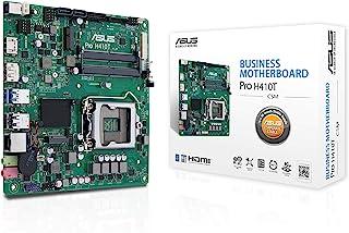 ASUS 华硕 Pro H410T/CSM 超薄迷你 ITX H410 商务主板,增强了*性、可靠性和易管理性