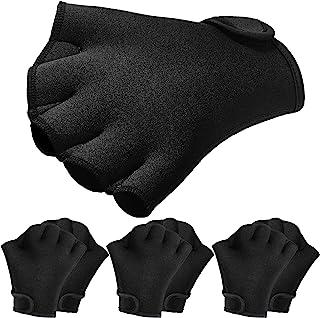Skylety 3 Paris 游泳手套水生健身防水训练手套水生贴合网状手套男女帮助上肢体阻力