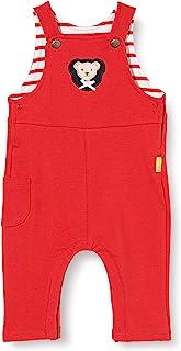 Steiff 女婴带甜美的 teddybärappation 背带裤