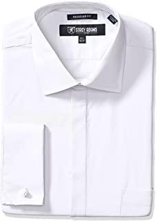 STACY ADAMS 男士大加长 39000 纯色正装衬衫
