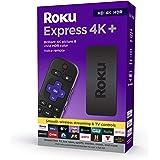 Roku Express 4K+ 2021 | 流媒体播放器 HD/4K/HDR 带流畅无线流和 Roku 语音遥控器…