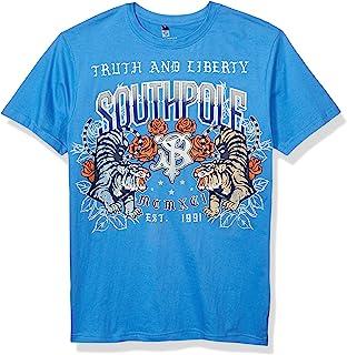 Southpole 男式经典图案 T 恤