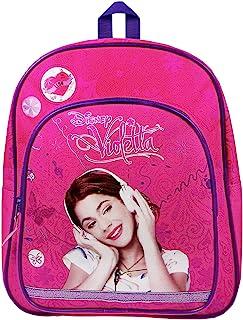 Violetta - Listen to Love 背包,带前袋,31 x 25 x 9 厘米