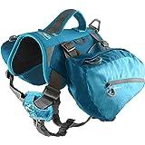 Kurgo 狗狗背包适合远足、散步或露营 海岸蓝(Coastal Blue) 30-85 lbs