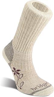 Bridgedale 女式徒步中等重量靴高度 - 美利奴舒适袜子