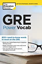 GRE Power Vocab (Graduate School Test Preparation) (English Edition)