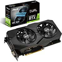 ASUS 华硕 GeForce RTX 2060 超频 6G GDDR6 双风扇 EVO 版 VR Ready HDMI…