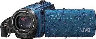 JVC GZ-R495 HD 四校对 40x 变焦便携式摄像机JVC804 CAMCORDER Camcorder 蓝色
