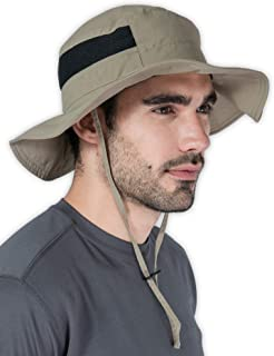 Outdoor Boonie Sun Hat - UPF 50 Protection for Men & Women. Wide Brim Summer Hat. Waterproof for Fishing, Hiking, Camping,...