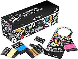 Billy Boy 午餐盒,*套,混合装,颜色,超湿和珍珠地毯,50件装