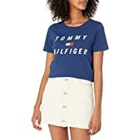 Tommy Hilfiger 汤米·希尔费格 女式短袖修身衬衫