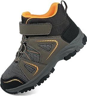 YESKIS 男孩女孩一脚蹬运动鞋软底轻质舒适步行袜鞋