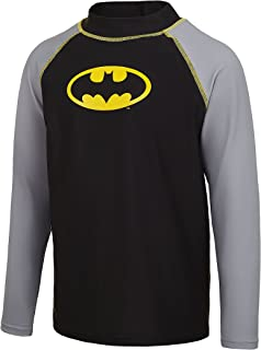 Zoggs 儿童蝙蝠侠长袖太阳上衣