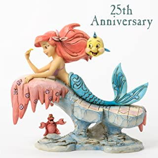 Jim Shore for Enesco Disney Traditions Little Mermaid Figurine, 6.25-Inch