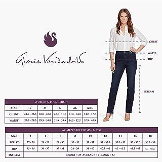 Gloria Vanderbilt 女式 Amanda 长裤