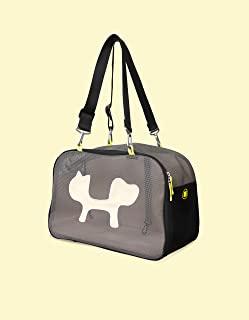 United Pets 网袋 猫 – 运输箱 黑色和黄色 – 950 克