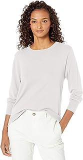 Amazon Brand - Daily Ritual 女式精细弹力圆领套头毛衣