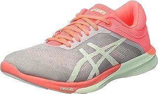 ASICS 女式 fuzeX RUSH 跑鞋 Multicolor (Midgrey/bay/flash Coral) 4 UK Asics Fuzex Rush T768n-9687