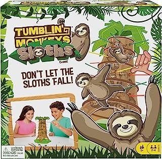 Mattel Games GMB75 Tumblin' Monkeys Sloths 玩具组合