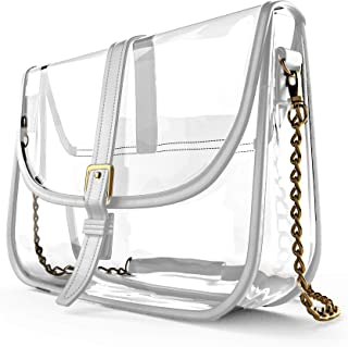 透明钱包 体育场认证 斜挎包 设计师透明手提包 女式