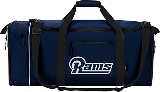 "NFL Los Angeles Rams ""Steal"" 行李袋,28"" x 11"" x 12"""