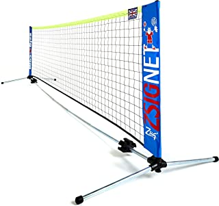 ZSIG 家庭迷你网球 - 3m 便携式网。 非常适合花园!