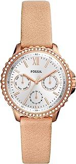 Fossil Izzy 女士石英不锈钢多功能手表,型号:ES4782