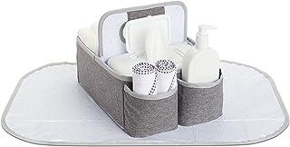 Munchkin 便携式尿布收纳盒,灰色